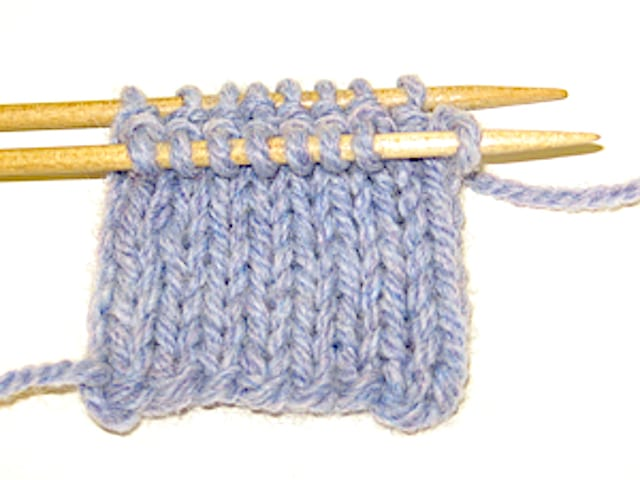Lesson: Double Knitting 3