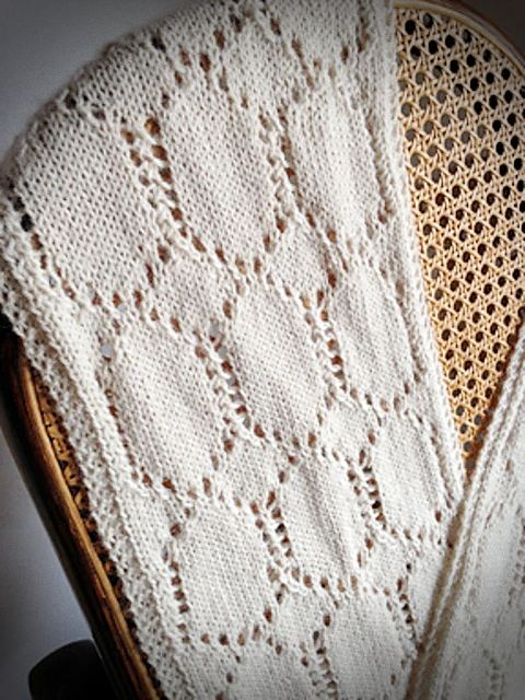 Ivory Needle Case Scarf | Knitting Pattern 3