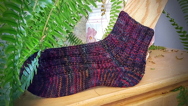 Socks from the Top Knitting Pattern