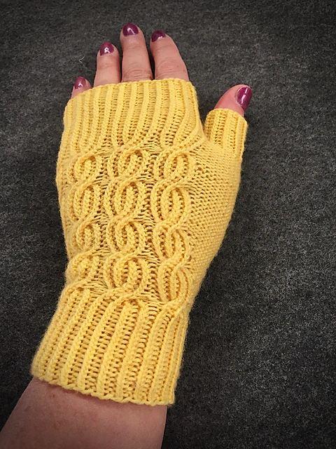 Bavarian Byways Mitts   Knitting Pattern 2