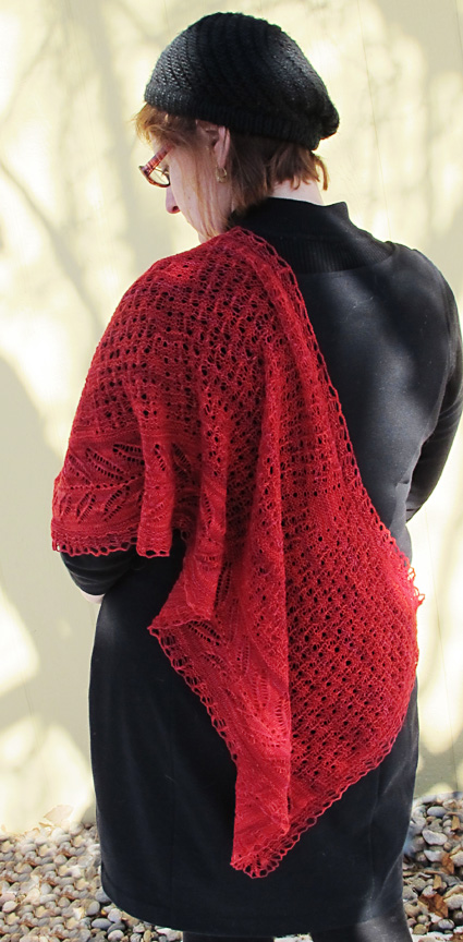 Free Pattern: Did Lace Knitting Originate in Spain? 1