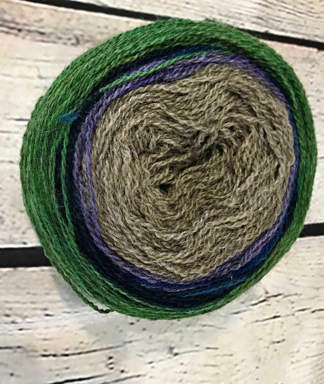 Purple Mort Bleu Butterly Knit Along - 5021 1