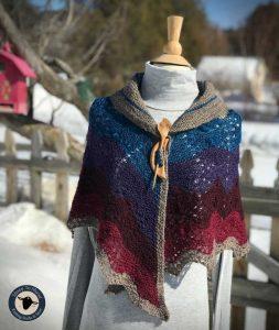 Purple Mort Bleu Butterly Knit Along - 5023 14