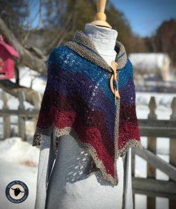 Purple Mort Bleu Butterly Knit Along - 5023 13