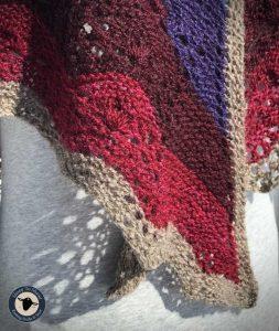 Purple Mort Bleu Butterly Knit Along - 5023 12