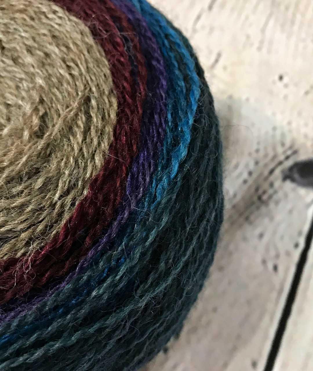 Purple Mort Bleu Butterly Knit Along - 5022 3