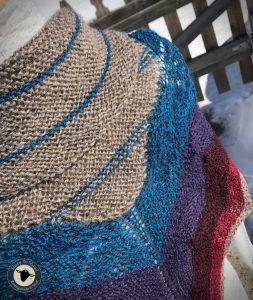 Purple Mort Bleu Butterly Knit Along - 5023 6