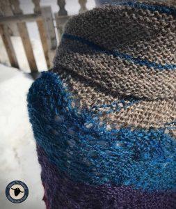 Purple Mort Bleu Butterly Knit Along - 5023 10