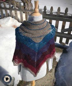 Purple Mort Bleu Butterly Knit Along - 5023 9