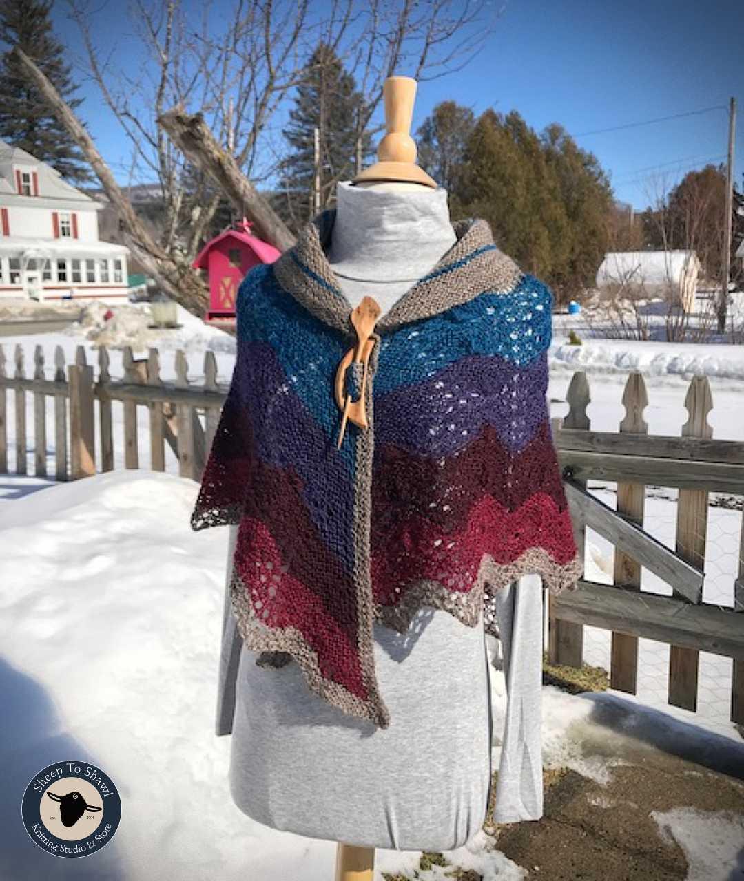 Purple Mort Bleu Butterfly KAL - April 2021 2