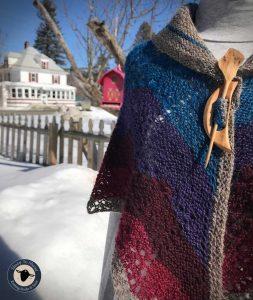 Purple Mort Bleu Butterly Knit Along - 5023 18