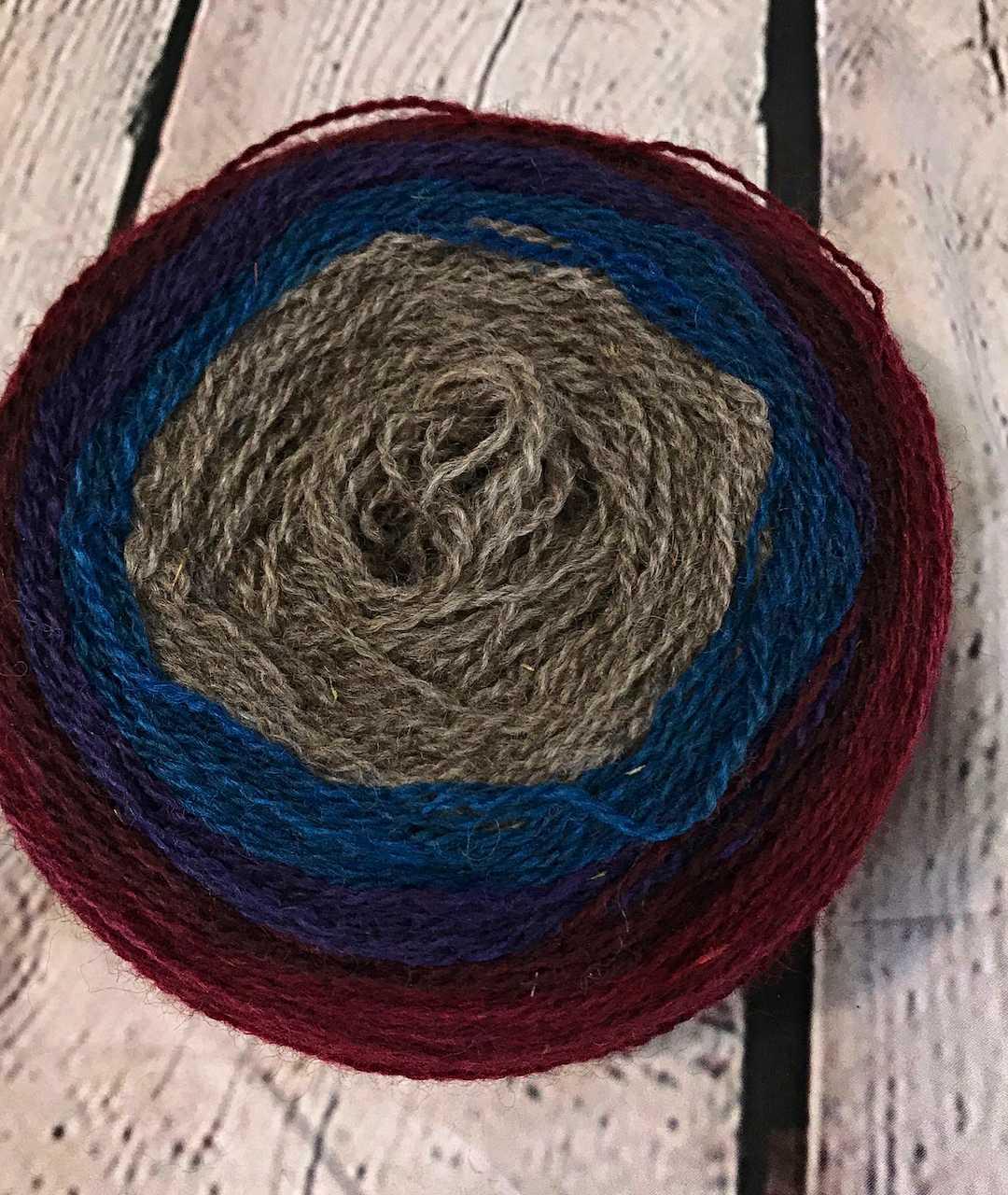 Purple Mort Bleu Butterly Knit Along - 5023 1