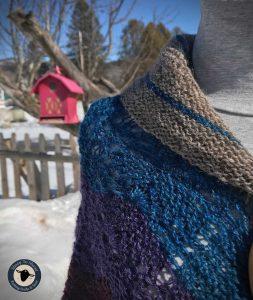 Purple Mort Bleu Butterly Knit Along - 5023 17