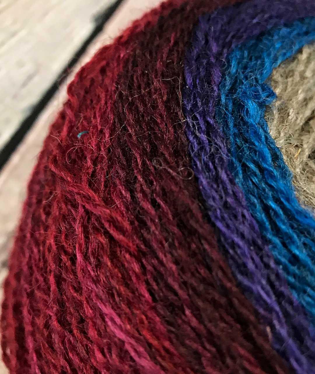 Purple Mort Bleu Butterly Knit Along - 5023 2