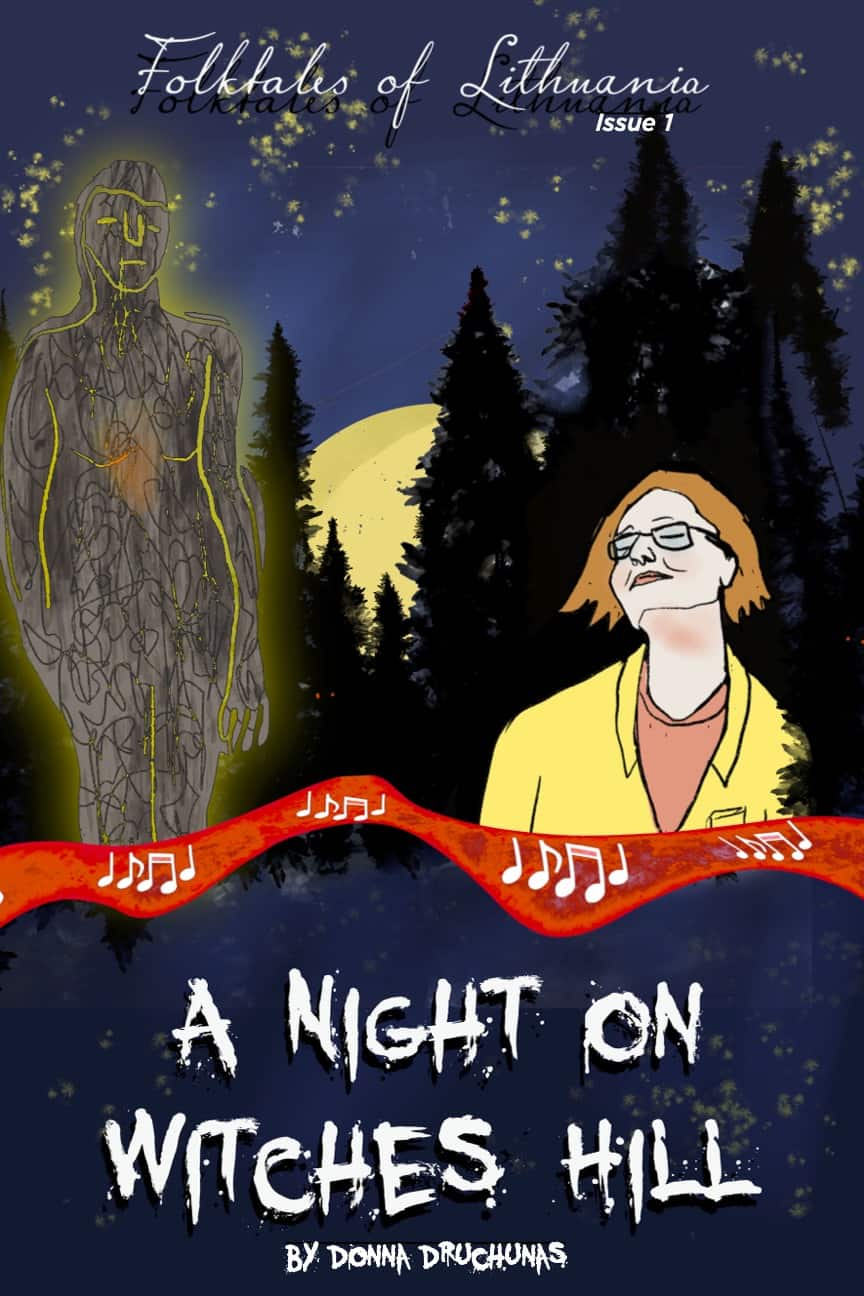 A Night On Witches Hill - Comic 1