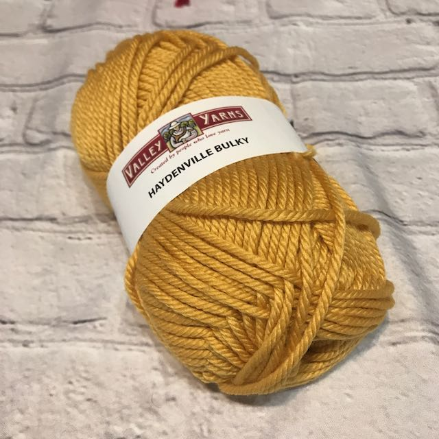 Valley Yarn - Haydenville Bulky - Gold 1