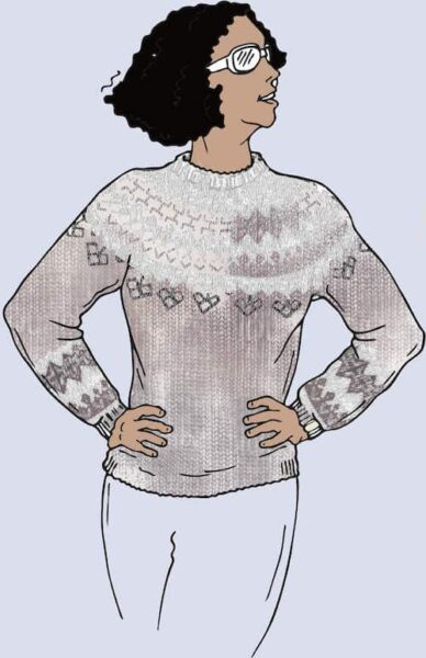 Icelandic Yoke Sweater - Knitting Workshop 3